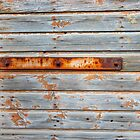Old barn door texture by Kristian Tuhkanen