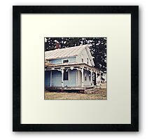 The Abandoned Dollhouse {3} Framed Print