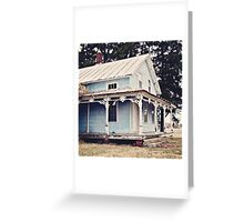 The Abandoned Dollhouse {3} Greeting Card