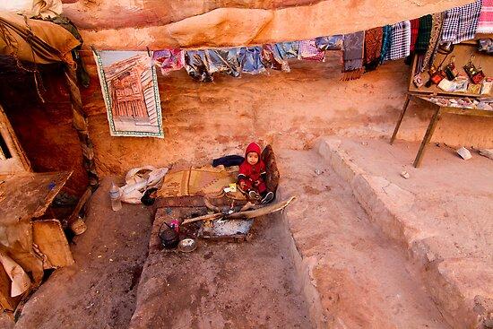 Petra,Jordan by Miguel De Freitas