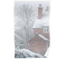 Through Falling Snow Poster