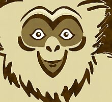 GIBBON by OTIS PORRITT