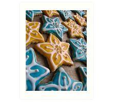 Grandma Julie's Homemade Cookies Art Print