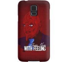 Once More, With Feeling Samsung Galaxy Case/Skin