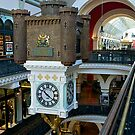 Queen Victoria Building, Clock, Sydney, Australia. by johnrf