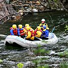 Rafting the Merced by Xcarguy