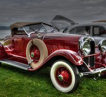 1928 Auburn Boattail Roadster  by Gwndorlin