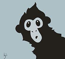 Spider Monkey - Peekaboo! by kylewalters