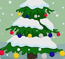Christmas tree by Marishkayu