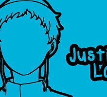Justin Law large silhouette print by sweetsheart