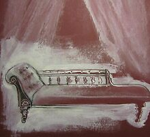 Chaise (study) by Thea T