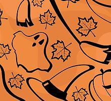 halloween pattern by Marishkayu