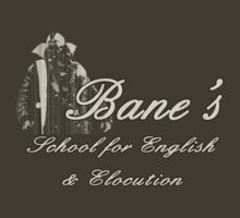 Bane's School for English & Elocution by inesbot