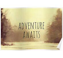 Adventure Awaits II Poster