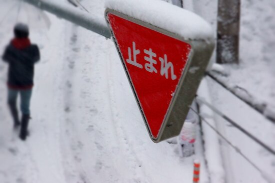 Stop ... It is snowing by kianhwee