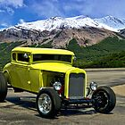1929 Ford Coupe Hot Rod by TeeMack