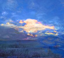 Blue Sky on a Snowy Morning by Jacqueline Longhurst