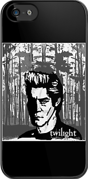 Edward - Twilight - Iphone Case by tribal191983