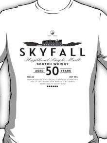 Skyfall Scotch Whisky Black T-Shirt