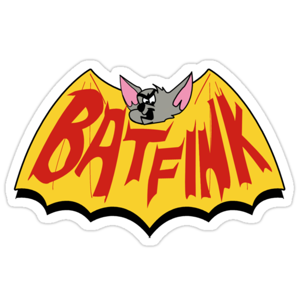 "Batfink - ""My wings are like a shield of steel!"" by tvcream"
