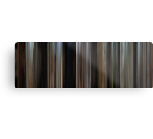 Moviebarcode: Butch Cassidy and the Sundance Kid (1969) Metal Print