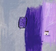 Lavender Farm cottage. by Tine  Wiggens