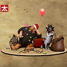 December: Christmas by Rotund-San