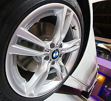 BMW ActiveHybrid 3 M Sport Wheel [ Print & iPad / iPod / iPhone Case ] by Mauricio Santana