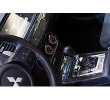 Mitsubishi Lancer Evolution X Exchange [ Print & iPad / iPod / iPhone Case ] Photographic Print