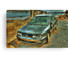 Unloved and forgotten  Canvas Print