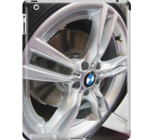 BMW ActiveHybrid 3 M Sport Wheel [ Print & iPad / iPod / iPhone Case ] iPad Case/Skin