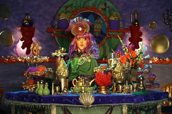 The Terrific Toulous' Tea Sanctuary  by SunShineInMySky