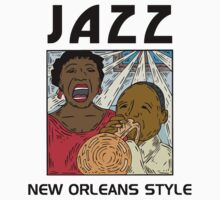 Mardi Gras Jazz by HolidayT-Shirts