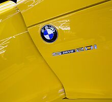 BMW Z4 sDrive20i Pure Impulse Door Detail [ Print & iPad / iPod / iPhone Case ] by Mauricio Santana