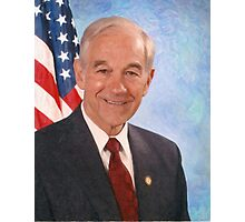 celebrities ron paul 3 Photographic Print