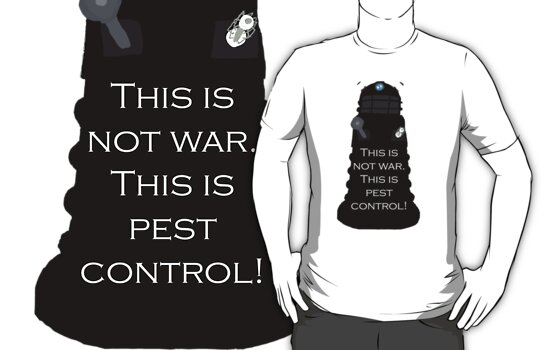 Dalek Sec: This is not war. This is pest control. by TesniJade
