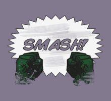 HULK SMASH!  by SallySparrowFTW