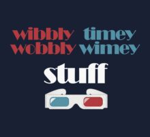 wibbly wobbly timey wimey stuff in 3D by SallySparrowFTW