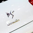 Citroën DS5 Hybrid Back Logo [ Print & iPad / iPod / iPhone Case ] by Mauricio Santana