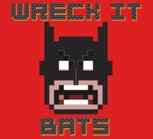 Wreck It Bats Kids Clothes