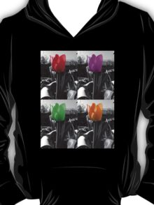 multi-coloured tulips T-Shirt