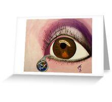 Tearful Intercession Greeting Card