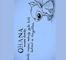 Ohana: means family by Averyop