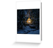 Cozy Retreat Greeting Card