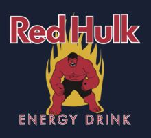 Red Hulk Energy Drink by micusficus