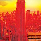 New York City Skyline (set 2 of 3) by Jeff Kaster