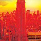New York City Skyline (set 2 of 3) by Jeff Kaster