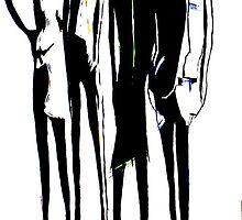 Badass Skinny Ladies by Tom Norton