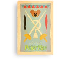 Walt Disney's Peter Pan Metal Print
