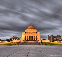 Melbourne War Memorial HDR by seyuk